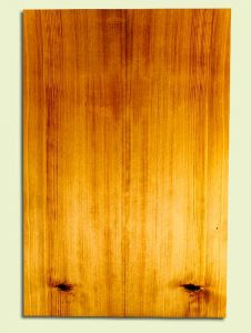 """CDSB30831 - Port Orford Cedar, Acoustic Guitar Soundboard, Classical Size, Med. to Fine Grain Salvaged Old Growth, Excellent Color, StellarGuitar Wood, 2 panels each 0.17"""" x 7.375"""" x 22"""", S2S"""