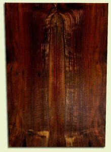 """WAES31482 - Claro Walnut, Solid Body Guitar Drop Top Set, Salvaged from Commercial Grove, Excellent Color& Contrast, Eco-FriendlyLuthier Wood, 2 panels each 0.26"""" x 7.875"""" x 23.25"""", S2S"""