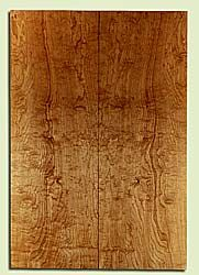 "MAES31679 - Rock Maple, Solid Body Guitar or Bass Fat Drop Top Set, Med. to Fine Grain, Excellent Color & Curl, Exquisite Luthier Tonewood, 2 panels each 0.37"" x 8"" x 23"", S2S"