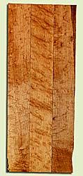 """MANB31712 - Rock Maple, Guitar Neck Blank, Med. to Fine Grain, Excellent Color, GreatGuitar Wood, Three piece neck, 3 panels each 0.92"""" x 3.5"""" x 26.25"""", S2S"""