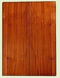 "RWES31855 - Redwood Drop Top Set, Med. to Fine Grain Salvaged Old Growth, Excellent Color & Contrast, Great Guitar Tonewood, 2 panels each 0.18"" x 8"" x 22"", S2S"