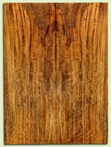 """MGES32047 - Mango, Solid Body Guitar Drop Top Set, Urban Salvage, Excellent Color& Curl, Amazing Guitar Wood, Old bug damage, 2 panels each 0.25"""" x 7.375"""" x 20"""", S2S"""