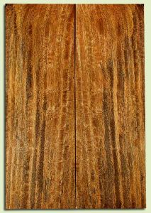 """MGES32049 - Mango, Solid Body Guitar Drop Top Set, Urban Salvage, Excellent Color& Curl, Amazing Guitar Wood, 2 panels each 0.25"""" x 7.375"""" x 21.75"""", S2S"""