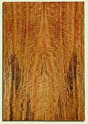 """MGES32054 - Mango, Solid Body Guitar Drop Top Set, Urban Salvage, Excellent Color& Curl, Amazing Guitar Wood, 2 panels each 0.27"""" x 7.5"""" x 22"""", S2S"""