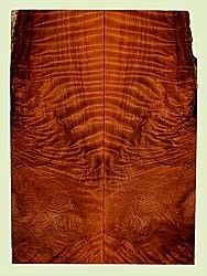 """RWES32699 - Redwood, Solid Body Guitar Les Paul Top Set, Med. to Fine Grain Salvaged Old Growth, Excellent Color& Curl, Eco-FriendlyGuitar Tonewood, 2 panels each 0.53"""" x 7.75"""" x 21.625"""", S2S"""