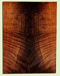 "RWES32847 - Redwood, Solid Body Guitar Fat Drop Top Set, Med. to Fine Grain Salvaged Old Growth, Excellent Color & Curl, Highly Resonant Guitar Wood, 2 panels each 0.34"" x 9"" x 23.75"", S2S"