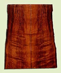 """RWSB33038 - Redwood, Solid Body Guitar Drop Top Set, Med. to Fine Grain Salvaged Old Growth, Excellent Color& Curl, GreatGuitar Wood, 2 panels each 0.28"""" x 6.5 to 8"""" x 19.875"""", S2S"""