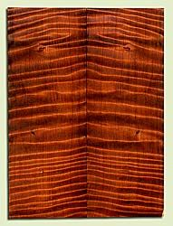 "RWSB33066 - Redwood, Solid Body Guitar Drop Top Set, Med. to Fine Grain Salvaged Old Growth, Excellent Color & Curl, Great Guitar Wood, Old Insect Damage, 2 panels each 0.15"" x 7.875"" x 21"", S2S"