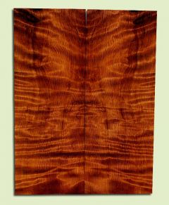 "RWSB33095 - Redwood, Solid Body Guitar Drop Top Set, Med. to Fine Grain Salvaged Old Growth, Excellent Color & Curl, Great Guitar Wood, 2 panels each 0.28"" x 7.5"" x 19.875"", S2S"