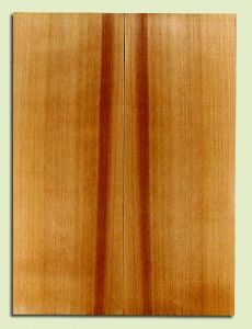 "RCSB33163 - Western Redcedar, Acoustic Guitar Soundboard, Dreadnought Size, Fine Grain Salvaged Old Growth, Excellent Color, Outstanding Guitar Wood, 2 panels each 0.18"" x 8"" x 22"", S2S"