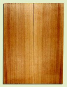 "RCSB33164 - Western Redcedar, Acoustic Guitar Soundboard, Dreadnought Size, Fine Grain Salvaged Old Growth, Excellent Color, Outstanding Guitar Wood, 2 panels each 0.18"" x 8"" x 22"", S2S"