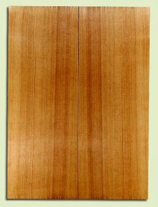 "RCSB33167 - Western Redcedar, Acoustic Guitar Soundboard, Dreadnought Size, Fine Grain Salvaged Old Growth, Excellent Color, Outstanding Guitar Wood, 2 panels each 0.18"" x 8"" x 22"", S2S"