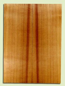 "RCSB33168 - Western Redcedar, Acoustic Guitar Soundboard, Dreadnought Size, Fine Grain Salvaged Old Growth, Excellent Color, Outstanding Guitar Wood, 2 panels each 0.18"" x 8"" x 22"", S2S"