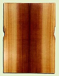 "RCSB33173 - Western Redcedar, Acoustic Guitar Soundboard, Dreadnought Size, Fine Grain Salvaged Old Growth, Excellent Color, Outstanding Guitar Wood, 2 panels each 0.18"" x 8"" x 22"", S2S"