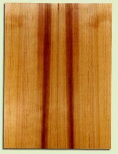 "RCSB33194 - Western Redcedar, Acoustic Guitar Soundboard, Dreadnought Size, Fine Grain Salvaged Old Growth, Excellent Color, Outstanding Guitar Wood, 2 panels each 0.18"" x 8"" x 22"", S2S"