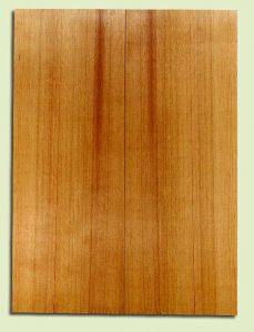 "RCSB33196 - Western Redcedar, Acoustic Guitar Soundboard, Dreadnought Size, Fine Grain Salvaged Old Growth, Excellent Color, Outstanding Guitar Wood, 2 panels each 0.18"" x 8"" x 22"", S2S"