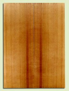 "RCSB33242 - Western Redcedar, Acoustic Guitar Soundboard, Classical Size, Fine Grain Salvaged Old Growth, Excellent Color, Outstanding Guitar Wood, 2 panels each 0.18"" x 7.875"" x 21.75"", S2S"