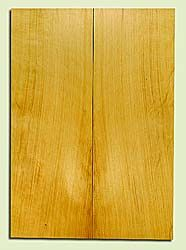 "YCSB33283 - Alaska Yellow Cedar, Acoustic Guitar Soundboard, Classical Size, Fine Grain Salvaged Old Growth, Excellent Color, Outstanding Guitar Wood, 2 panels each 0.13"" x 7.75"" x 21.75"", S2S"