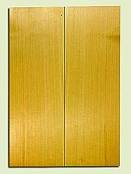 "YCSB33290 - Alaska Yellow Cedar, Acoustic Guitar Soundboard, Classical Size, Fine Grain Salvaged Old Growth, Excellent Color, Outstanding Guitar Wood, 2 panels each 0.13"" x 7.75"" x 21.75"", S2S"