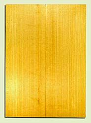 "YCSB33293 - Alaska Yellow Cedar, Acoustic Guitar Soundboard, Classical Size, Fine Grain Salvaged Old Growth, Excellent Color, Outstanding Guitar Wood, 2 panels each 0.16"" x 7.75"" x 21.75"", S2S"