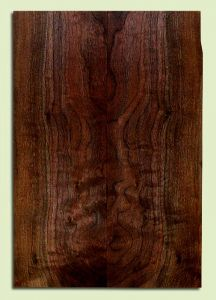 "WAES33353 - Claro Walnut, Solid Body Guitar Drop Top Set, Med. to Fine Grain, Excellent Color& Contrast, GreatGuitar Wood, 2 panels each 0.21"" x 7.5"" x 21.5"", S2S"