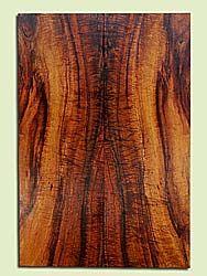 "KOES33541 - Koa, Solid Body Guitar Fat Drop Top Set, Med. to Fine Grain, Excellent Color& Curl, RareGuitar Wood, 2 panels each 0.35"" x 7.25"" x 21.375"", S2S"