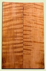 "RWES03567 - Redwood Les Paul or Bass Top Set, Good Curl and Color, Salvaged Old Growth.  2 panels each  .625"" x 7"" x 22""  S1S"