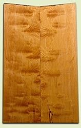 "DFES03932 - Curly Old Growth Douglas Fir Drop Top Set, Medium Figure, 3/4 Sawn, Bass or Strat size.  2 panels each  .25"" x 7"" x 22.5""  S1S   Great Guitar Wood"