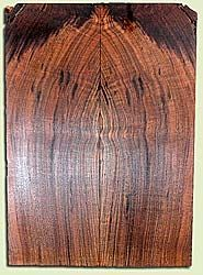 """WAES40774 - Claro Walnut, Solid Body Guitar Fat Drop Top Set, Med. to Fine Grain, Excellent Color& Curl, GreatGuitar Wood, Note: This set does have bark inclusions, 2 panels each 0.38"""" x 7.875"""" x 22.375"""", S2S"""