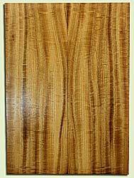 "MYES41030 - Myrtlewood, Solid Body Guitar Fat Drop Top Set, Med. to Fine Grain, Excellent Color& Curl, OutstandingGuitar Wood, 2 panels each 0.42"" x 8.25"" x 22.625"", S2S"