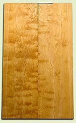 "DFES04138 - Curly Old Growth Douglas Fir Drop Top Set, Good Figure, 3/4 Sawn, Bass or Strat size.  2 panels each  .24"" x 7"" x 24""  S1S   Superior Guitar Wood"