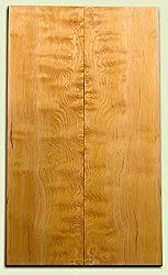"DFES04139 - Curly Old Growth Douglas Fir Drop Top Set, Good Figure, 3/4 Sawn, Bass or Strat size.  2 panels each  .24"" x 7"" x 24""  S1S   Superior Guitar Wood"