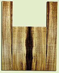 """MYAS41516 - Myrtlewood, Acoustic Guitar Back & Side Set, Med. to Fine Grain, Excellent Color& Curl, Amazing Guitar Wood, 2 panels each 0.19"""" x 8.5"""" x 22.75"""", S2S, and 2 panels each 0.17"""" x 5.5"""" x 35.625"""", S2S"""