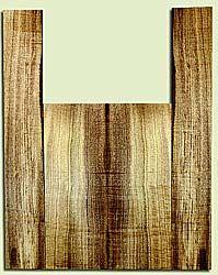 """MYAS41524 - Myrtlewood, Acoustic Guitar Back & Side Set, Med. to Fine Grain, Excellent Color& Curl, Amazing Guitar Wood, 2 panels each 0.19"""" x 8.5"""" x 22.75"""", S2S, and 2 panels each 0.18"""" x 5.5"""" x 35.5"""", S2S"""