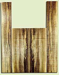 """MYAS41526 - Myrtlewood, Acoustic Guitar Back & Side Set, Med. to Fine Grain, Excellent Color& Curl, Amazing Guitar Wood, 2 panels each 0.19"""" x 8.5"""" x 22.5"""", S2S, and 2 panels each 0.18"""" x 5.25"""" x 35.5"""", S2S"""
