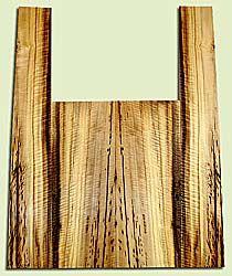 """MYAS41618 - Myrtlewood, Acoustic Guitar Back & Side Set, Med. to Fine Grain, Excellent Color& Curl, Amazing Guitar Wood, 2 panels each 0.17"""" x 8.75"""" x 22.875"""", S2S, and 2 panels each 0.16"""" x 4.5 to 6"""" x 35.75"""", S2S"""