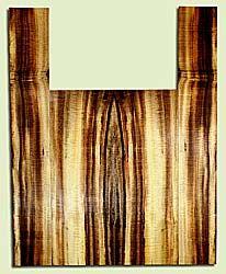 """MYAS41623 - Myrtlewood, Acoustic Guitar Back & Side Set, Med. to Fine Grain, Excellent Color& Curl, Amazing Guitar Wood, 2 panels each 0.18"""" x 8.625"""" x 24.375"""", S2S, and 2 panels each 0.15"""" x 5.5"""" x 35.875"""", S2S"""