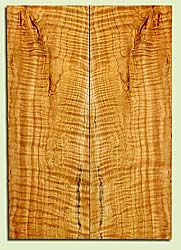 """CDES41906 - Port Orford Cedar, Solid Body Guitar Drop Top Set, Med. Grain Salvaged Old Growth, Excellent Color& Curl, Amazing Guitar Wood, 2 panels each 0.29"""" x 8.25"""" x 23.75"""", S2S"""