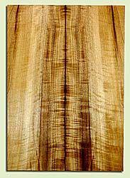 "MYES42007 - Myrtlewood, Solid Body Guitar Drop Top Set, Med. to Fine Grain, Excellent Color& Curl, GreatGuitar Wood, 2 panels each 0.29"" x 7.875"" x 22.5"", S2S"