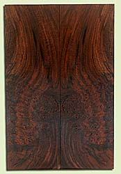 "WAES42092 - Claro Walnut, Solid Body Guitar Drop Top Set, Salvaged from Commercial Grove, Excellent Color, Eco-Friendly Guitar Tonewood, Note:  Bark inclusion, 2 panels each 0.26"" x 7.75"" x 23.875"", S2S"
