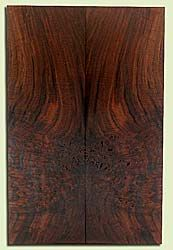 "WAES42094 - Claro Walnut, Solid Body Guitar Drop Top Set, Salvaged from Commercial Grove, Excellent Color, Eco-Friendly Guitar Tonewood, Note:  Bark inclusions, 2 panels each 0.25"" x 7.75"" x 23.875"", S2S"