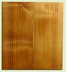 "CDEB42392 - Port Orford Cedar, Solid Body Guitar Body Blank, Very Fine Grain, Excellent Color, Highly Resonant Guitar Wood, 2 panels each 2"" x 9.375"" x 21"", S2S"