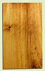 "CDEB42393 - Port Orford Cedar, Solid Body Guitar Body Blank, Med. to Fine Grain, Excellent Color, Highly Resonant Guitar Wood, Knot out of layout, 1 panels each 1.95"" x 14.125"" x 23"", S2S"