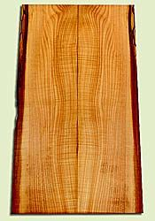 """MAES42418 - Western Big Leaf Maple, Solid Body Guitar Drop Top Set, Med. to Fine Grain, Excellent Color& Curl, GreatGuitar Wood, 2 panels each 0.26"""" x 6.25 to 7.5"""" x 23.5"""", S2S"""