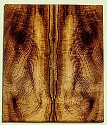 "MYES42428 - Myrtlewood, Solid Body Guitar Drop Top Set, Med. to Fine Grain, Excellent Color& Curl, GreatGuitar Wood, 2 panels each 0.18"" x 8.5"" x 20.25"", S2S"