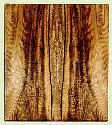 "MYES42430 - Myrtlewood, Solid Body Guitar Drop Top Set, Med. to Fine Grain, Excellent Color& Curl, GreatGuitar Wood, 2 panels each 0.18"" x 8.75"" x 20"", S2S"