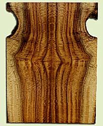 """MYES42665 - Myrtlewood, Solid Body Guitar Drop Top Set, Med. to Fine Grain, Excellent Color, GreatGuitar Wood, 2 panels each 0.25"""" x 6.5 to 8.75"""" x 23.5"""", S2S"""