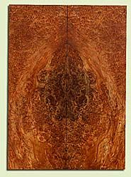 """MAES42741 - Western Big Leaf Maple, Solid Body Guitar or Bass Drop Top Set, Med. to Fine Grain Salvaged Old Growth, Excellent Color& Burl, GreatGuitar Wood, 2 panels each 0.28"""" x 8.125"""" x 23"""", S2S"""