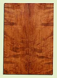 "RWES42765 - Redwood, Solid Body Guitar Fat Drop Top Set, Very Fine Grain Salvaged Old Growth, Excellent Color & Curl, Exquisite Guitar Wood, 2 panels each 0.38"" x 7.875"" x 23"", S2S"