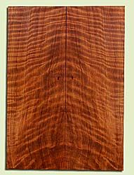 "RWES42771 - Redwood, Solid Body Guitar Fat Drop Top Set, Very Fine Grain Salvaged Old Growth, Excellent Color & Curl, Exquisite Guitar Wood, 2 panels each 0.34"" x 8"" x 22.75"", S2S"
